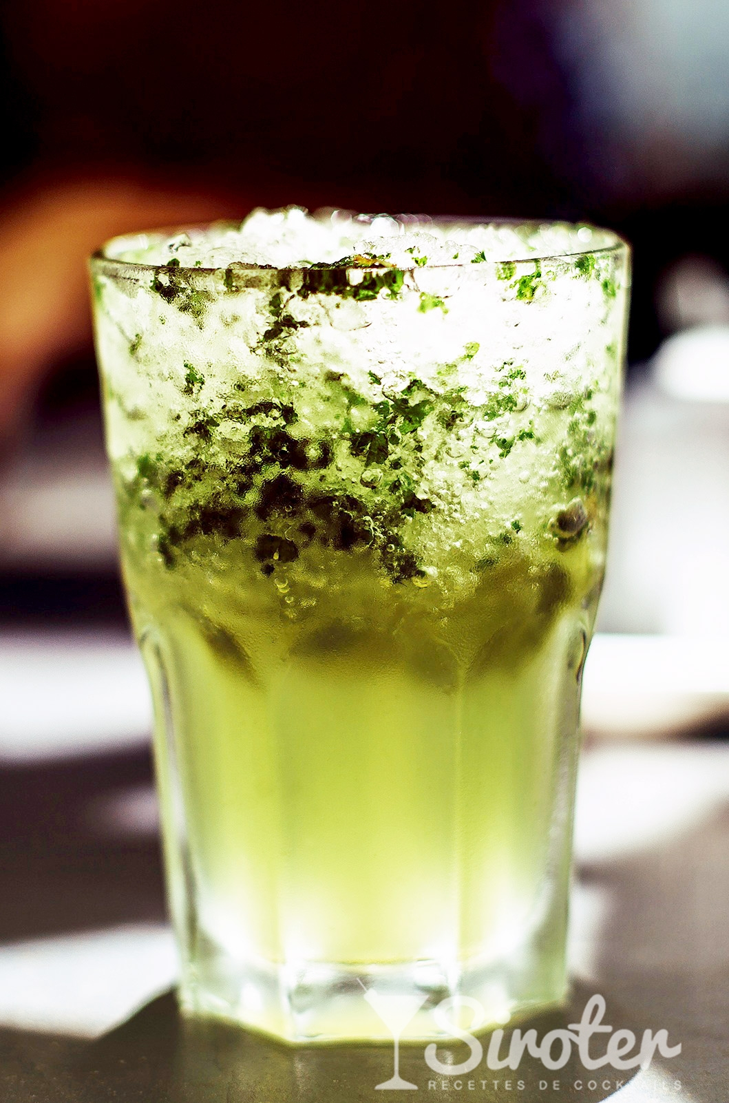 vodka lemon mojito cocktail drink