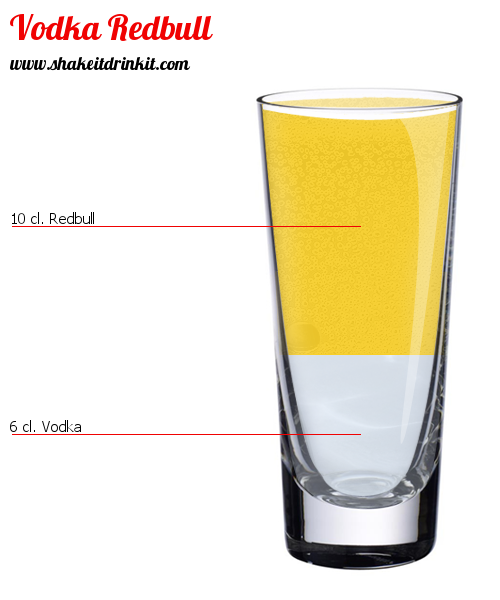 Red bull vodka with twist - 5 9